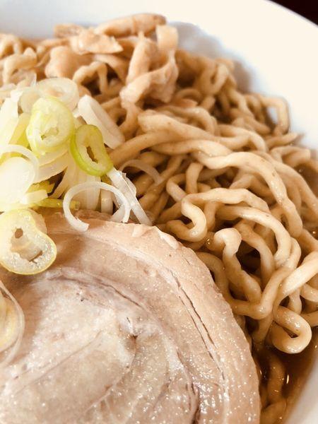 「油300g味濃いめ」@自家製太麺渡辺の写真