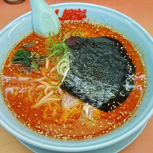 「辛味噌ラーメン 大辛 870」@ラーメン山岡家 野田店の写真