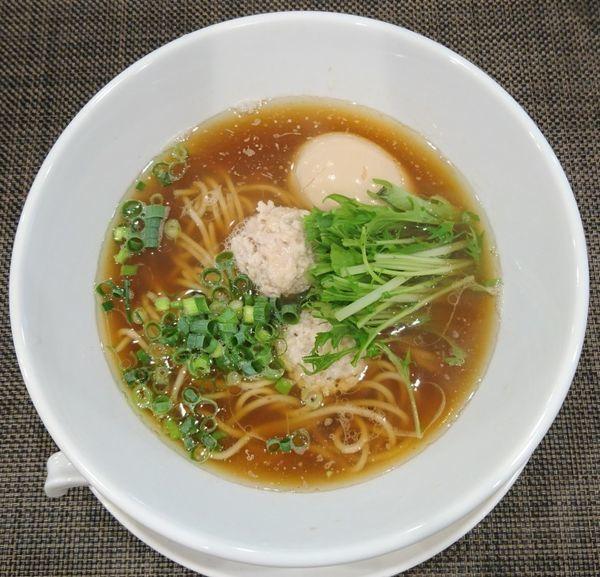 「味玉醤油ラーメン」@自家製麺ほんまの写真