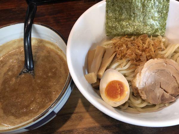 「濃魚つけめん・醤油・大盛(780円)」@オリオン食堂の写真