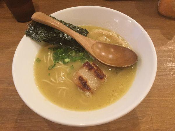 「ラーメン・ぽてり(¥750)」@鶏ポタラーメン THANK お茶の水の写真