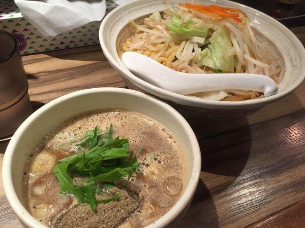 「煮干しつけ麺」@麺屋ジャイアン弐の写真