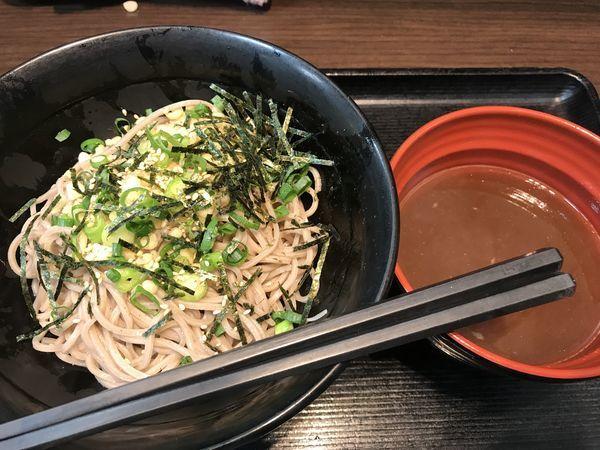 「淡麗煮干しつけ蕎麦【420円】」@名代富士そば 武蔵小山店の写真