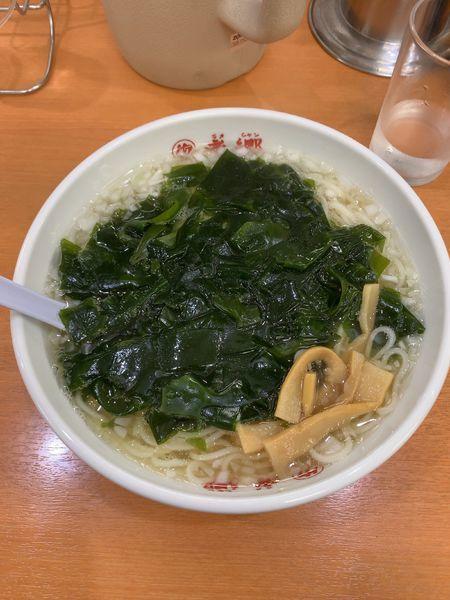 「湯麺」@老郷 本店の写真