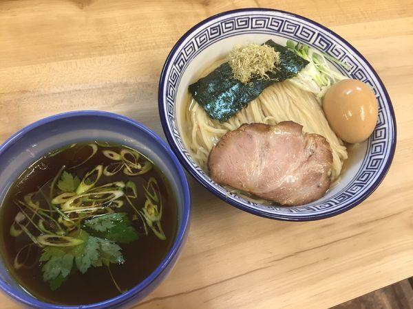 「昆布水つけ麺醤油味玉¥850」@麺処 有彩の写真