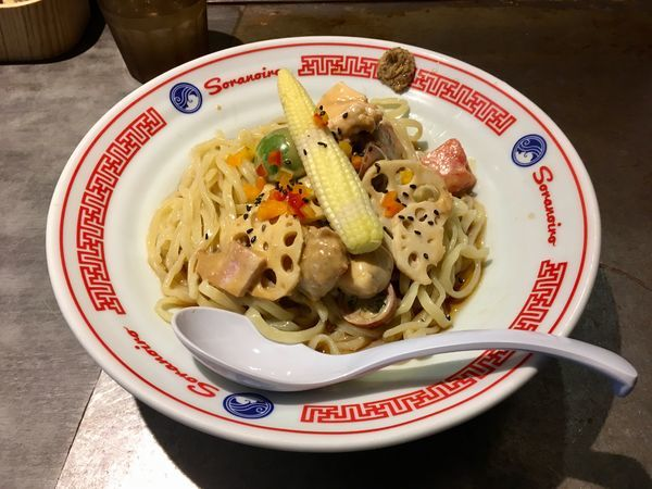 「Colorful Cold Soup-less Ramen」@ソラノイロ japanese soup noodle free styleの写真