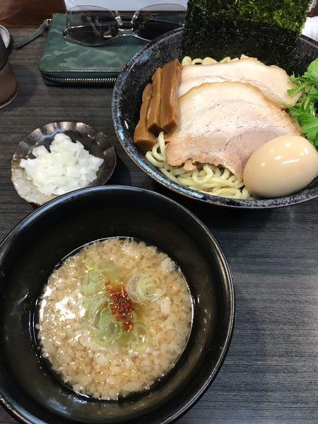 「奔放背脂つけ麺」@ラーメンつけ麺 奔放の写真