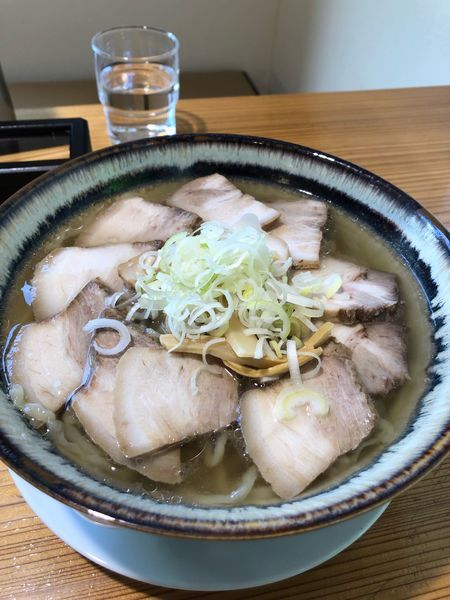 「日本海藻塩チャーシュー麺大盛り」@喜多方ラーメン 喜一の写真