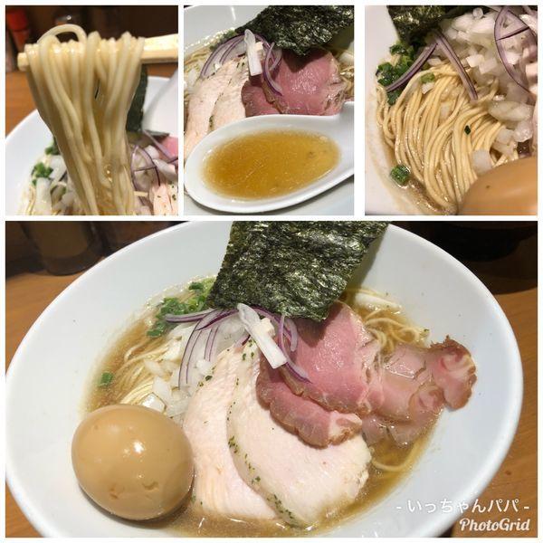 「特製中華蕎麦 1000円」@亀戸煮干中華蕎麦 つきひの写真