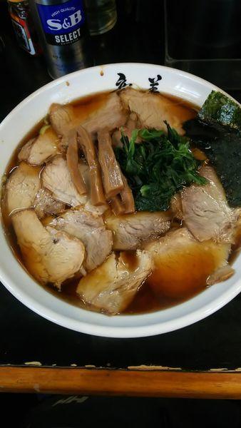 「チャーシューめん(生姜醤油)」@らーめん 竜美 与野本町店の写真