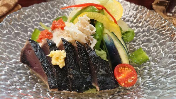 「限定涼三 魚冷やし  1000円」@烈志笑魚油 麺香房 三くの写真