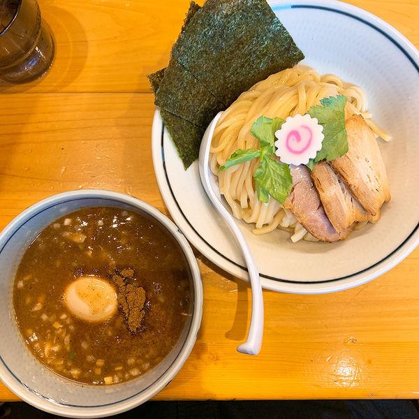「特製濃厚魚介つけ麺」@蕾 煮干 分家の写真