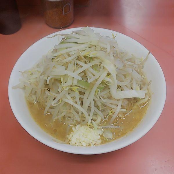 「ラーメン少なめニンニク」@ラーメン二郎 ひばりヶ丘駅前店の写真