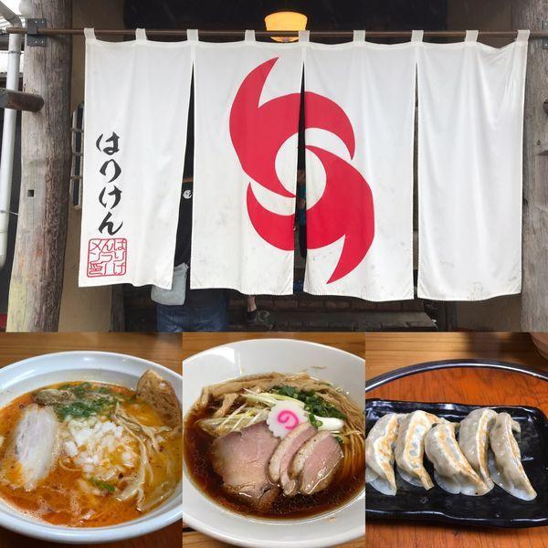 「鴨蕎麦+鶏蕎麦潮」@はりけんラーメン 南店の写真