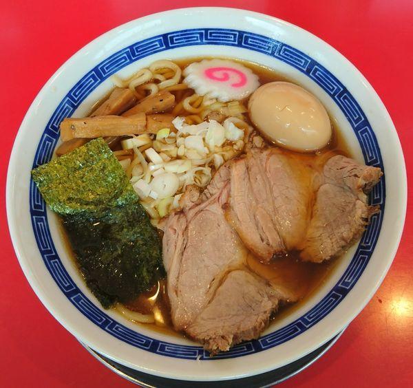 「【限定】日本一不味い中華そば+味玉」@ジャンプの写真