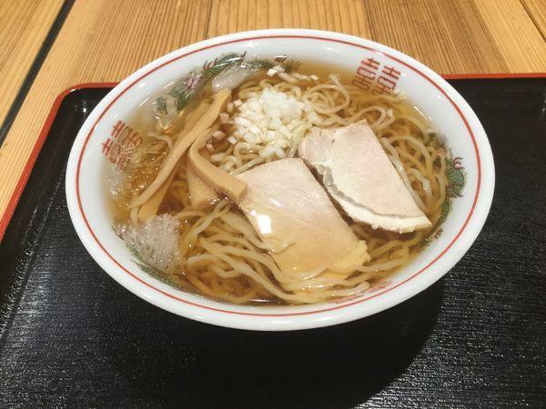 「冷やしラーメン(¥700)【食堂いしやま】」@日本橋ふくしま館 MIDETTE ミデッテの写真