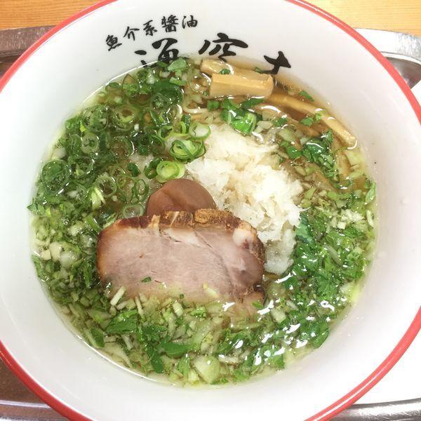 「みぞれ麺 半麺 950」@魚介系醤油拉麺専科 海空土の写真
