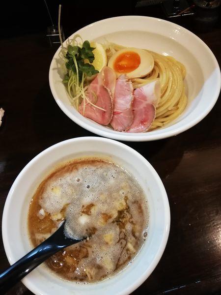 「魚つけ麺」@魚と豚と黒三兵の写真
