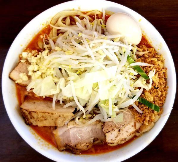 「辛いラーメン300g」@龍麺 ふえ郎の写真