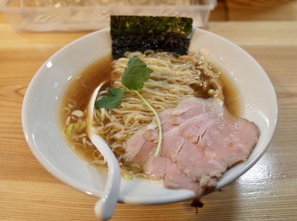 「煮干し中華そば…750円」@純水煮干し中華そば 匠庵の写真