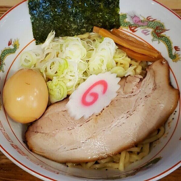 「貝出汁油そば (牛トロビネガー付き)780円」@麺's キッチン RIRIの写真