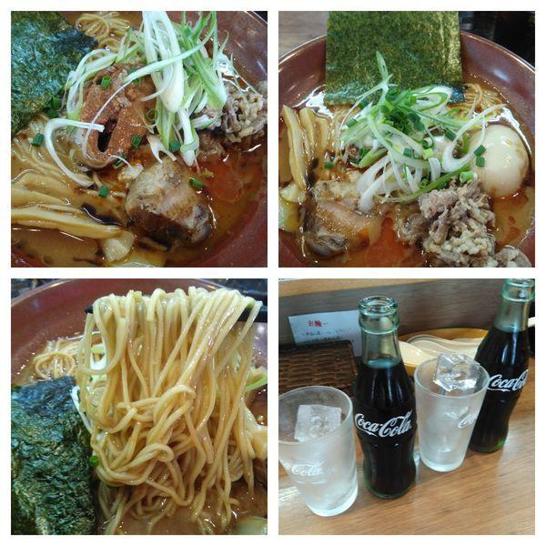 「サバ味噌ラーメン+コーラ」@麺家 Shumen Doushiの写真