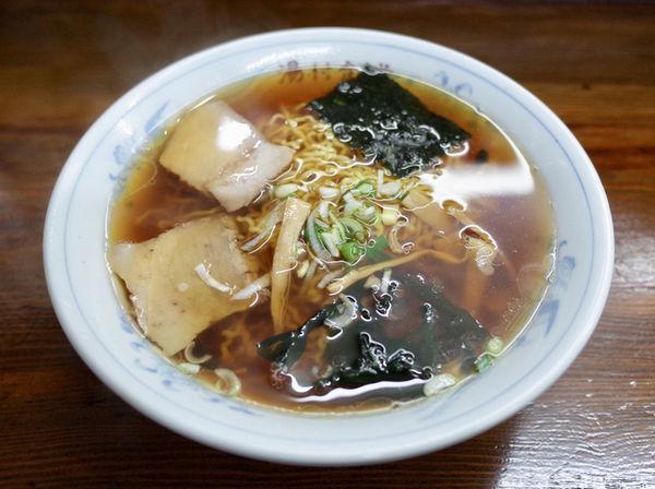 「ラーメン…600円」@湯村食堂の写真