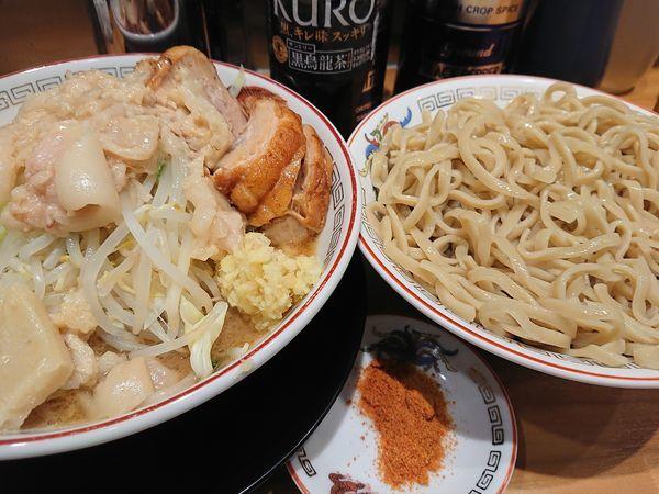 「大ぶたつけ麺」@ラーメン豚山 東長崎店の写真