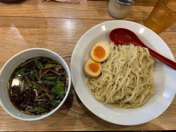 「味玉つけ麺醤油950円」@くじら食堂 nonowa東小金井店の写真
