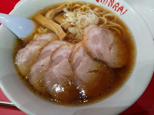「ちゃーしゅー麺」@手打らーめん 珍來 柏東口店の写真