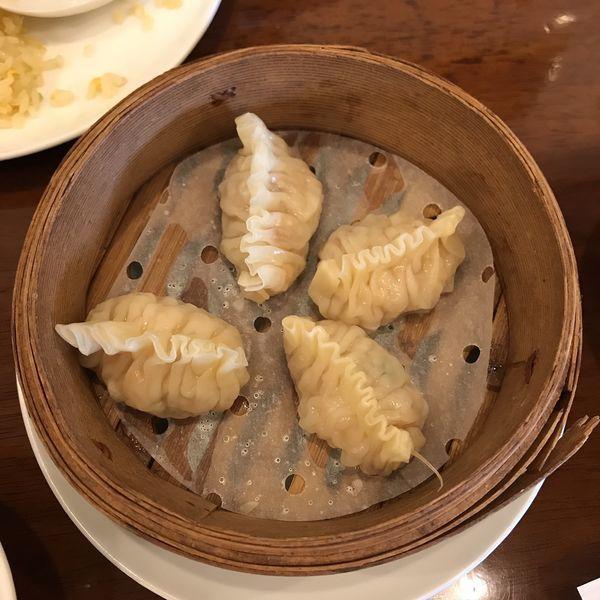 「魚翅餃子 フカヒレギョウザ(4個)」@三和楼の写真