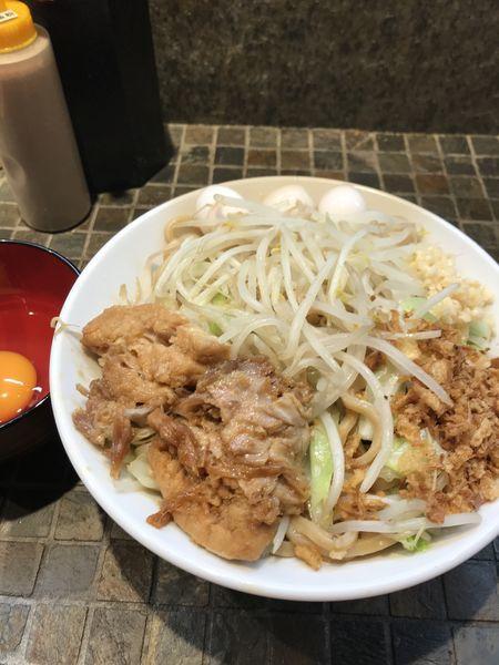 「マゼロー」@まぜそば(麺)マゼロー 小岩店の写真