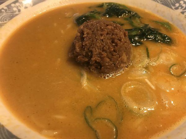 「担担麺 699円 (税抜)」@バーミヤン 江東南砂店の写真