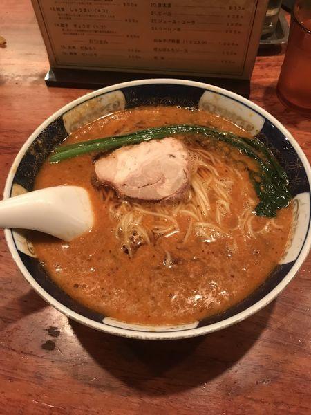 「だんだん麺」@支那麺 はしご 銀座本店の写真