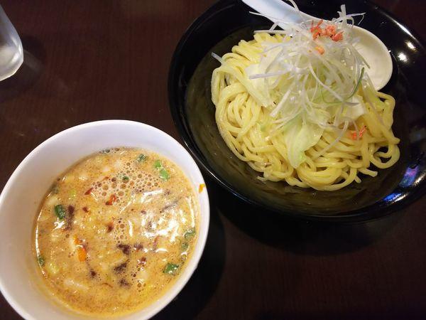 「担々つけ麺 850円」@くうねるまぜる つけ麺専門店の写真
