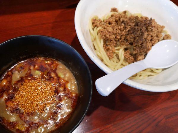 「[限定]坦々つけ麺」@翔鶴 高崎店の写真