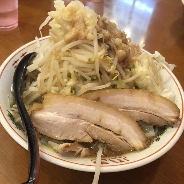 「ラーメン野菜マシマシ」@郎郎郎 本厚木店の写真