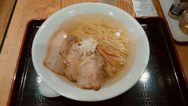 「【うえんで食堂】会津山塩ラーメン¥800-」@日本橋ふくしま館 MIDETTE ミデッテの写真