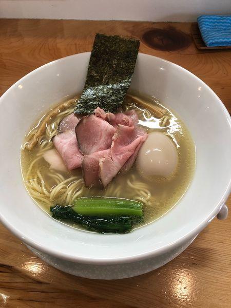 「味玉貝の潮そば」@麺屋BISQの写真