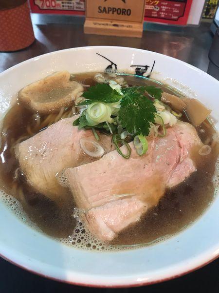 「津軽煮干し中華」@津軽煮干中華蕎麦 サムライブギーの写真