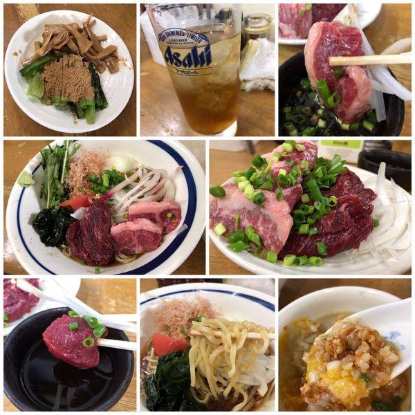 「【水無月限定】馬刺し和風冷や中(S)3000円」@MENYA 食い味の道有楽の写真