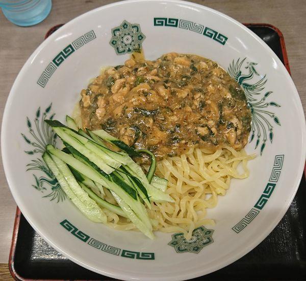「ガパオ汁なし麺(590円)」@来来軒 大宮南銀座店の写真
