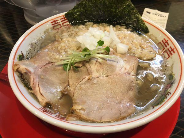 「煮干鬼脂 中華そば」@つけめんTETSU 横浜ランドマークプラザ店の写真