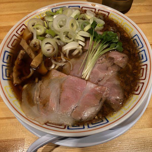 「サバ醤油そば」@サバ6製麺所 阪急梅田店の写真
