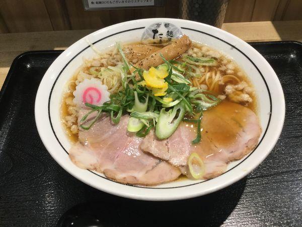 「豚骨清湯ラーメン(¥780)」@麺屋 たけ井 阪急梅田店の写真