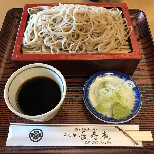 「もり(¥600)」@長寿庵の写真