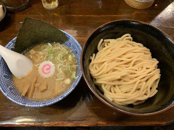 「つけ麺太麺並 800円」@つけ麺 紅葉の写真