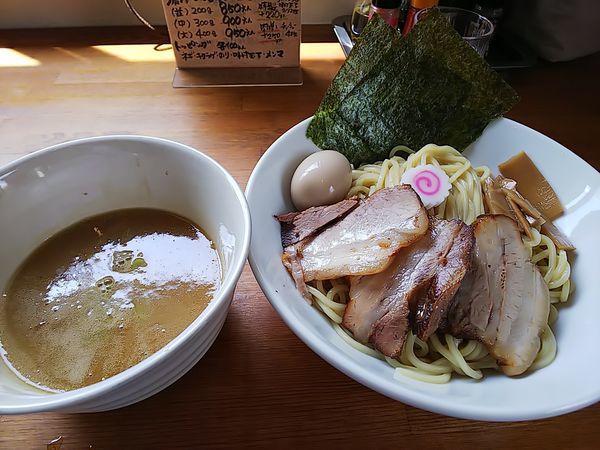 「濃厚つけ麺(中)」@中華そば 田田の写真