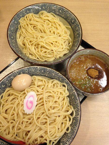 「味玉濃厚つけ麺 特大 1166円」@中華そば 葵 ララガーデン川口店の写真