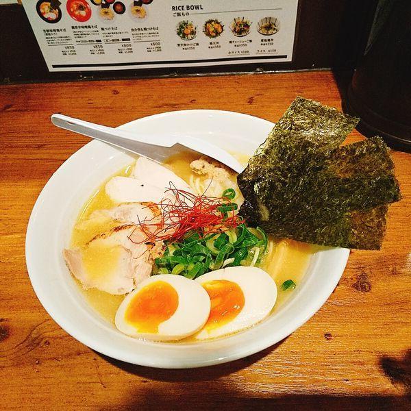 「鶏白湯そば 特製」@麺屋 美風 戸越銀座店の写真
